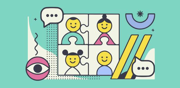 Cultura colaborativa de empresa y mentalidad silo
